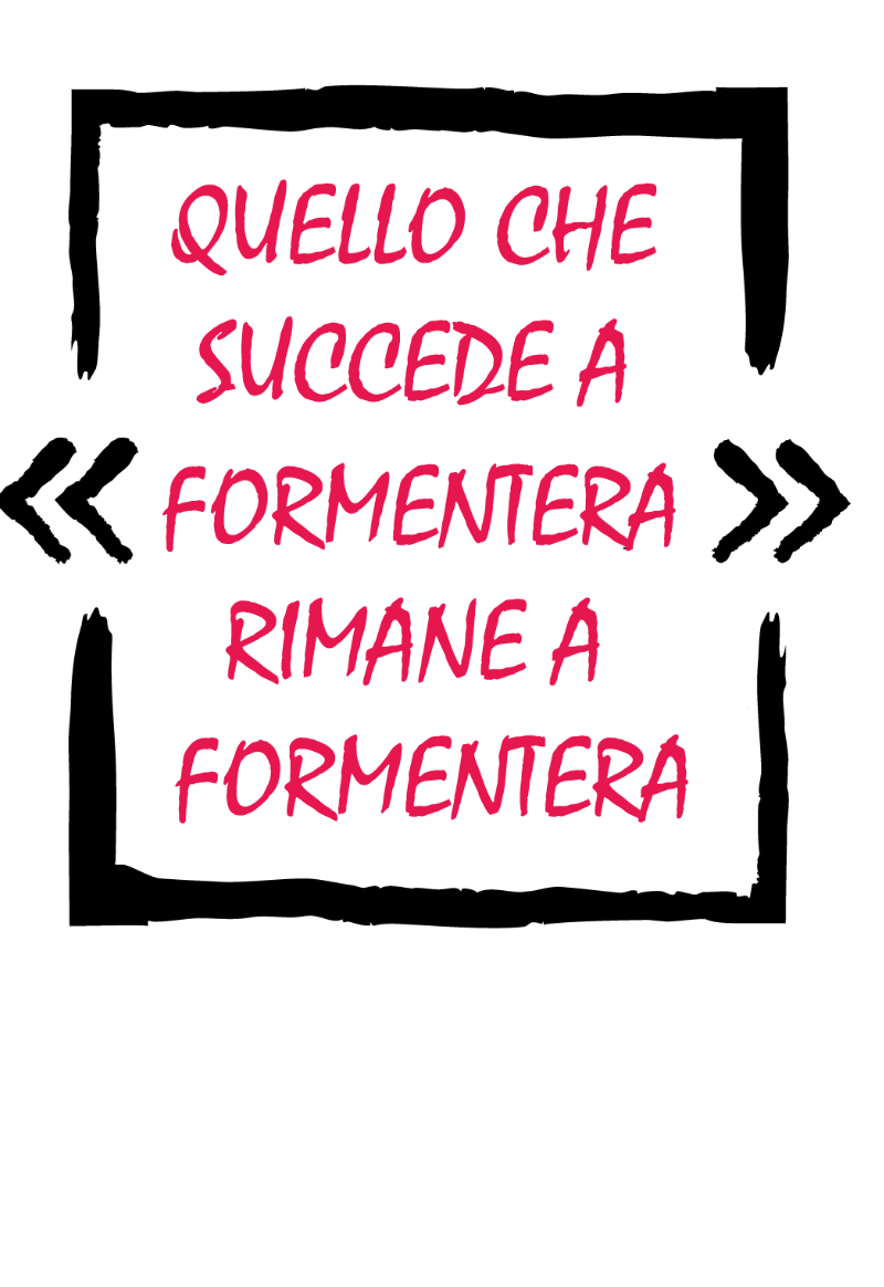 maglietta Formentera Official T-shirt La Isla