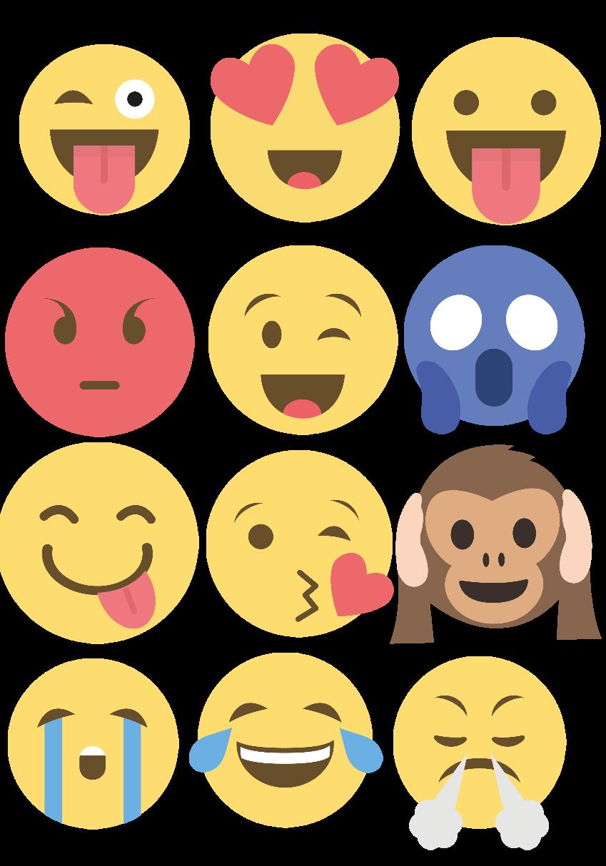 maglietta Felpa emoji