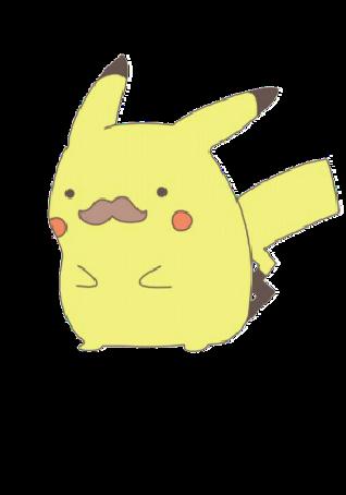 maglietta pikachu coi baffi :3