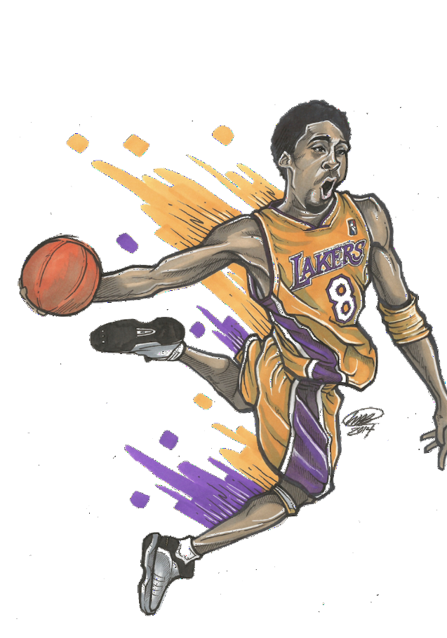 maglietta The Legendary Kobe #8