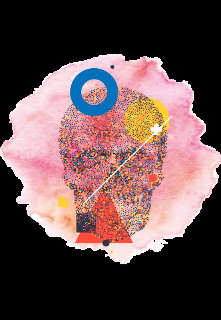 maglietta  Illuminated Skull