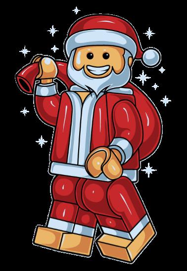 maglietta Lego Christmas Santa