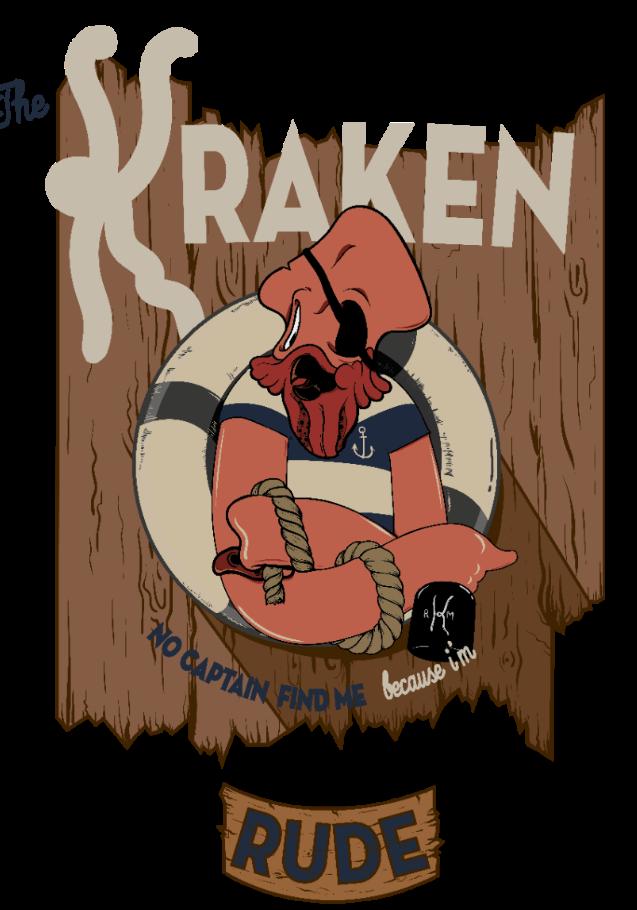maglietta Kraken