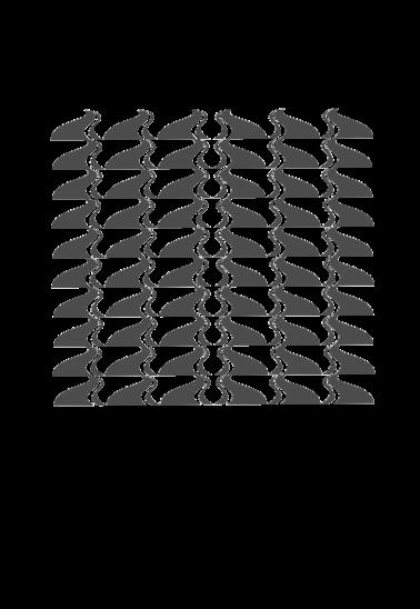maglietta geometric gesh