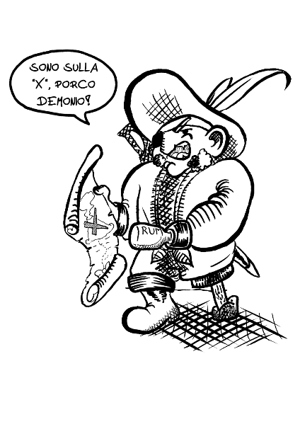 maglietta Il Pirata per lei
