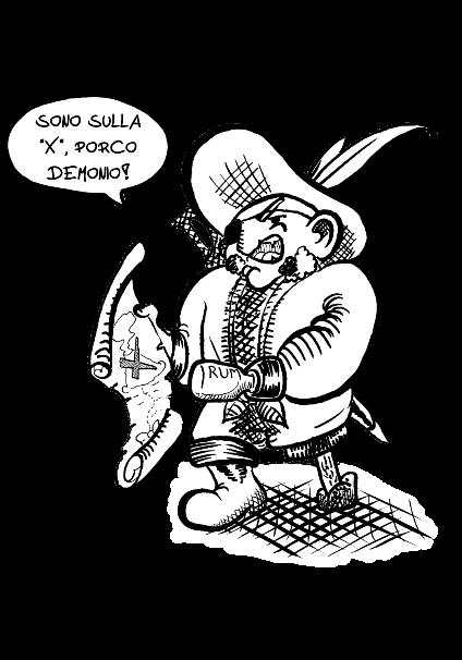 maglietta Il Pirata per lui
