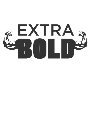 maglietta EXTRA BOLD White
