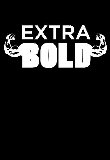 maglietta EXTRA BOLD Black