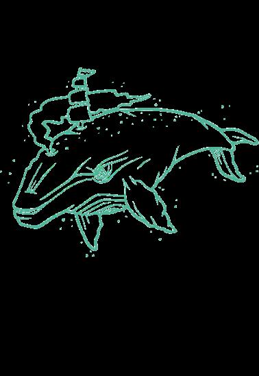 maglietta Dream whale