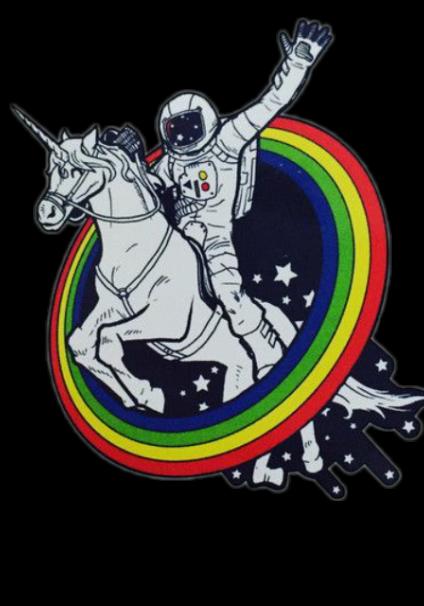 maglietta Space Unicorn