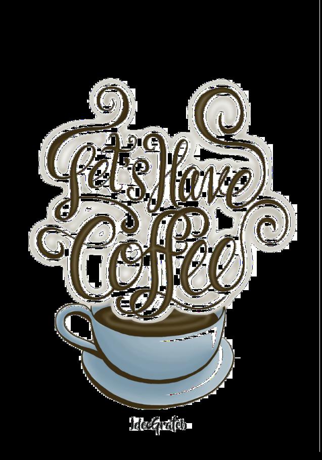 maglietta Coffee