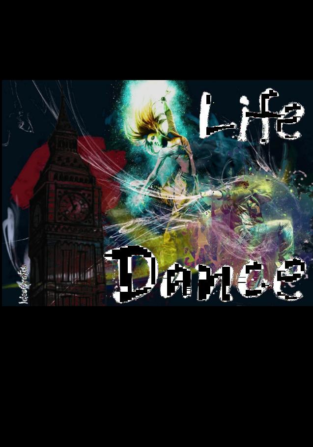 maglietta Life and Dance