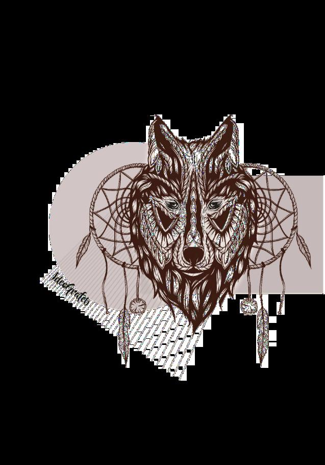 maglietta The wolf