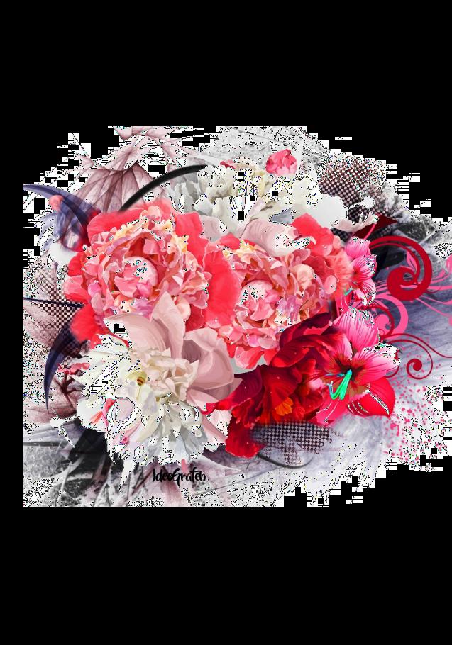 maglietta Summer and Flowers