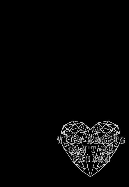 maglietta Wild hearts can't be broken