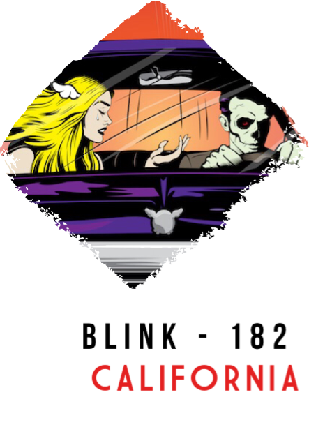 maglietta Blink - 182 | California