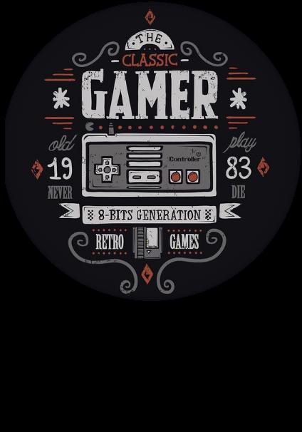 maglietta Gamer