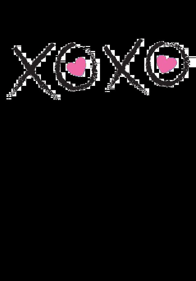 maglietta XOXO