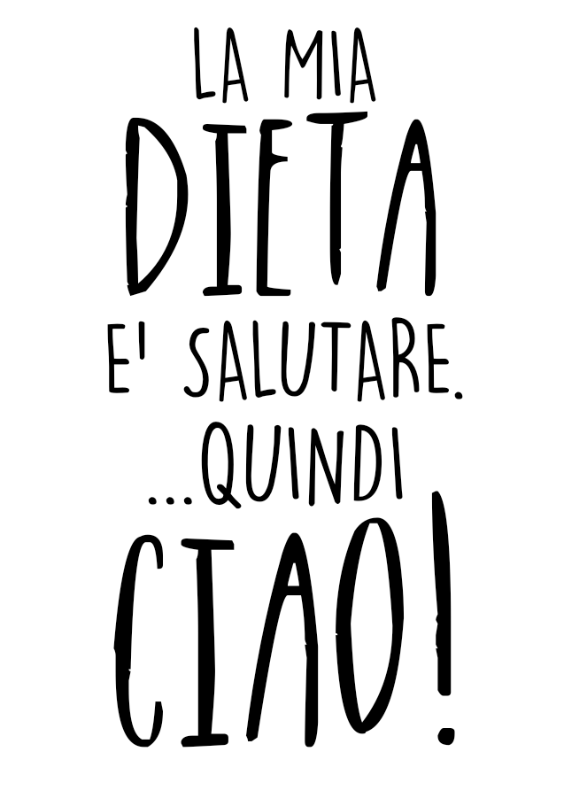 maglietta DIETACIAO