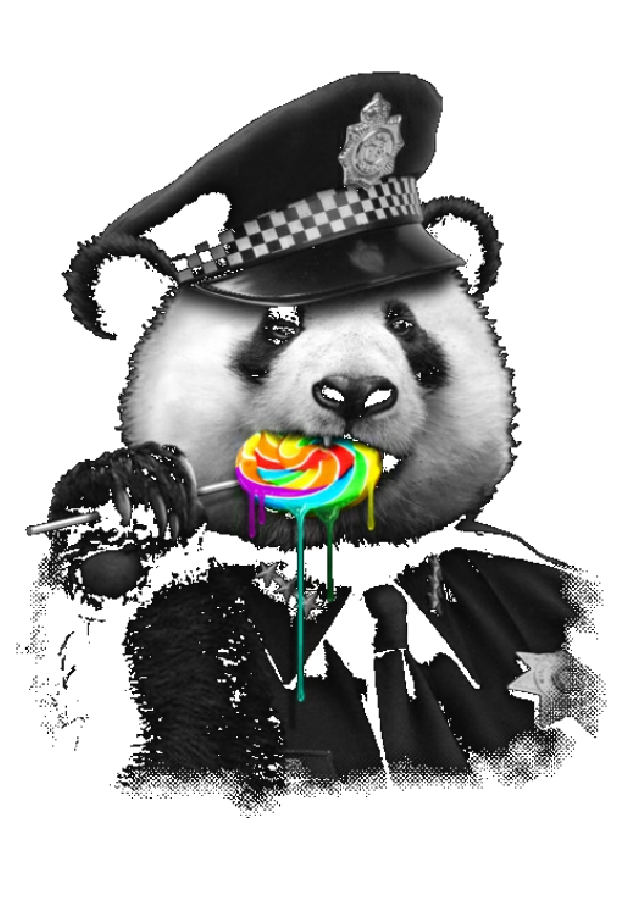 maglietta PANDA LOVES LOLLIPOP