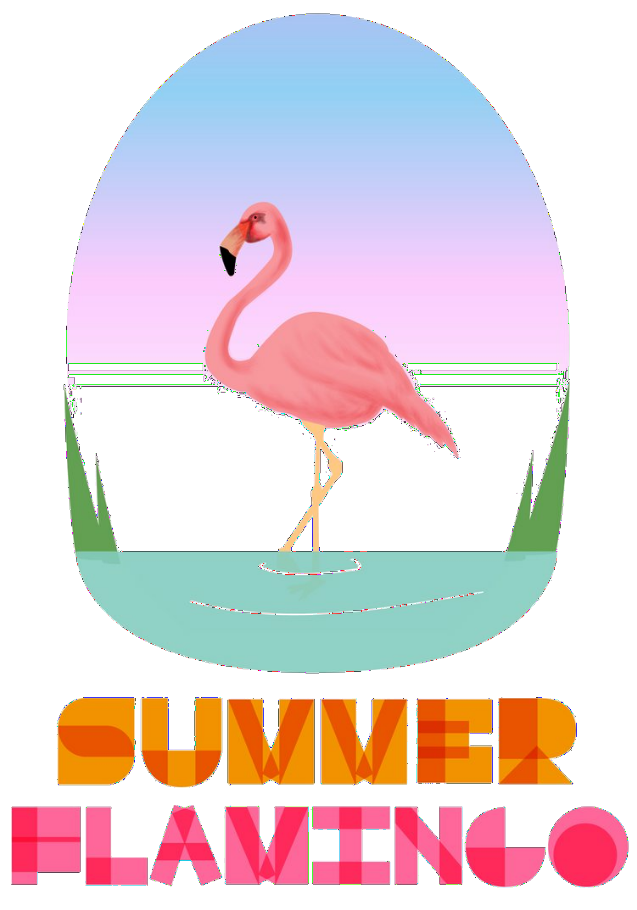 maglietta SUMMER FLAMINGO