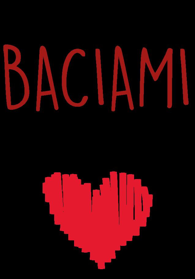 maglietta BACIAMI
