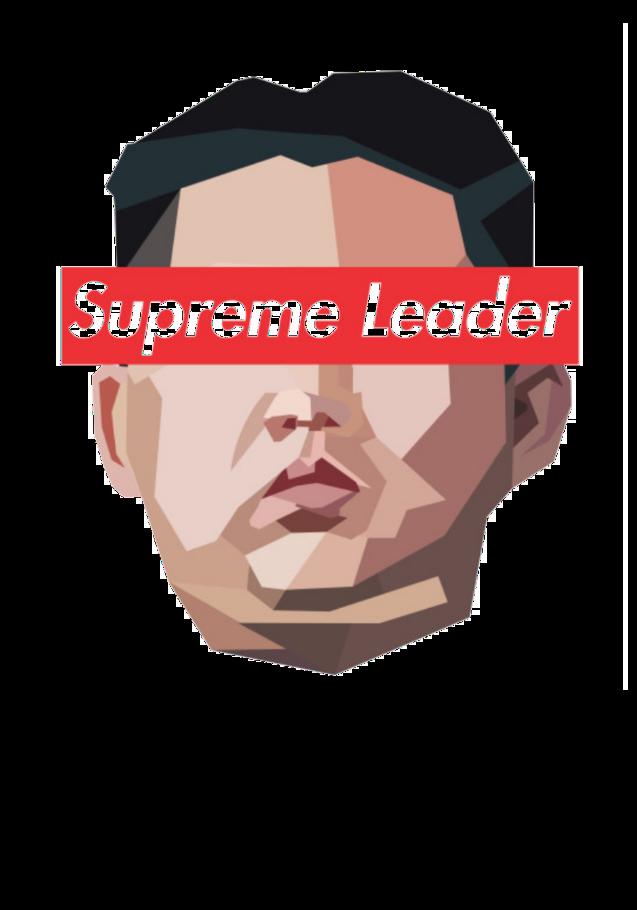 maglietta Leader Kim Jong