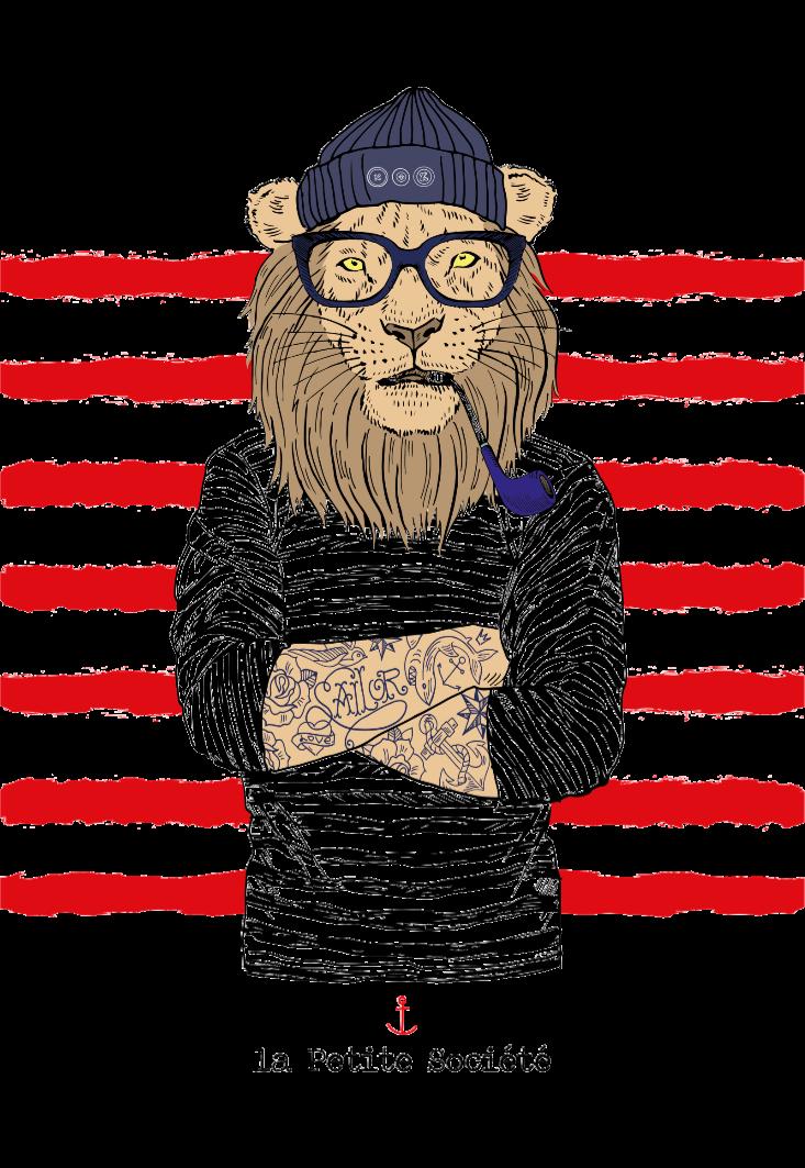 maglietta Sailor Lion