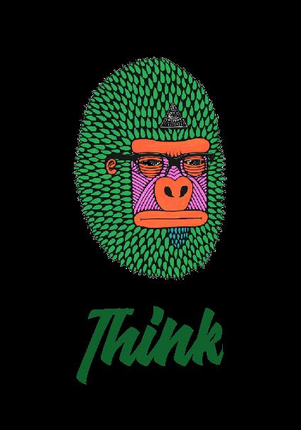 maglietta Think