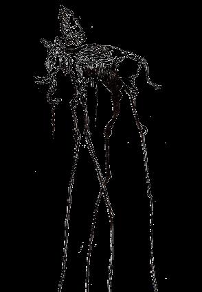 maglietta Elefante Dalí