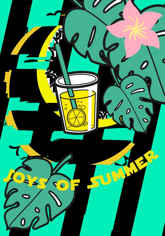 maglietta Joys of Summer