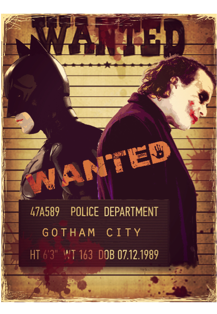 maglietta LB Wanted