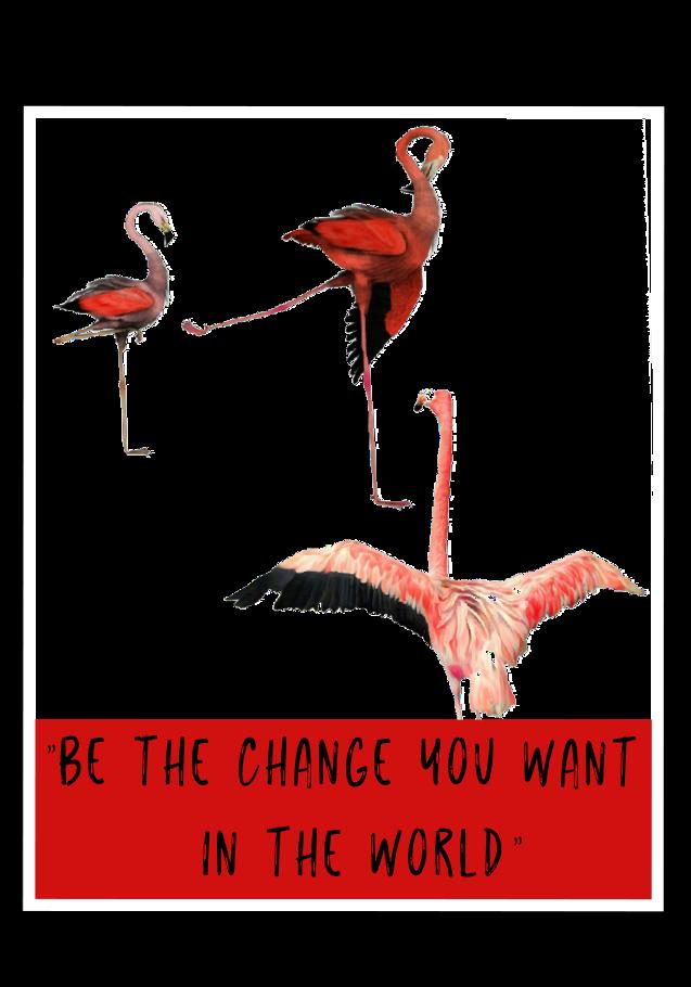 maglietta Be the change