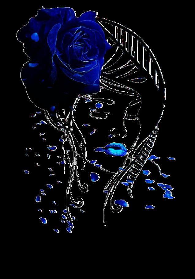 maglietta Blue Rose