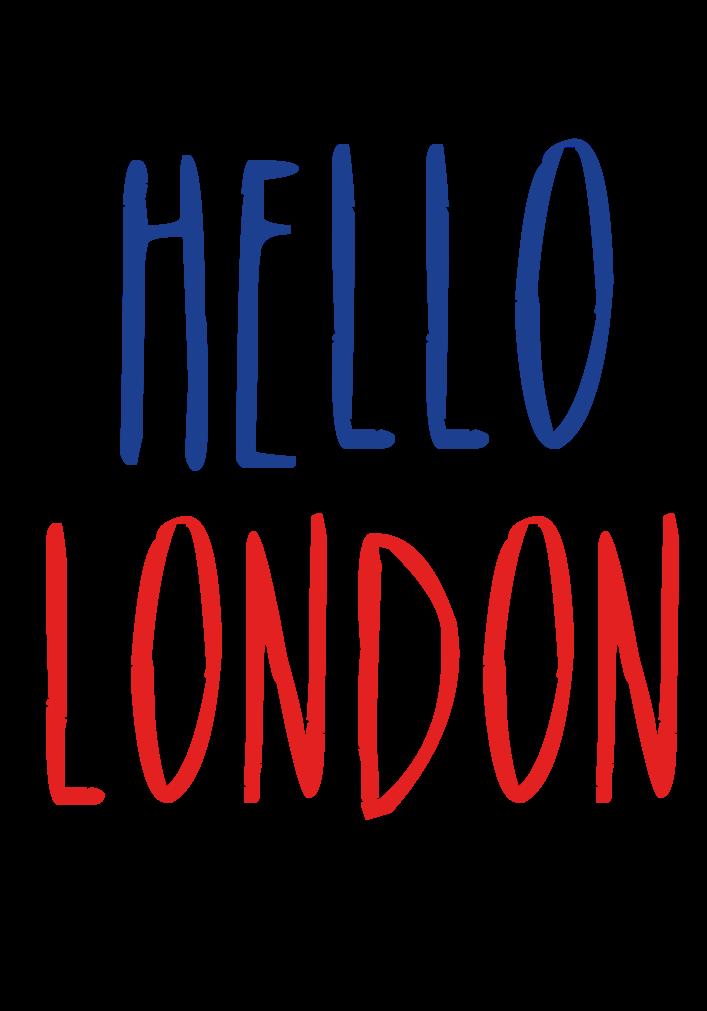 maglietta Hello London!