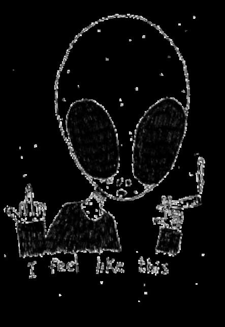 maglietta aliens.