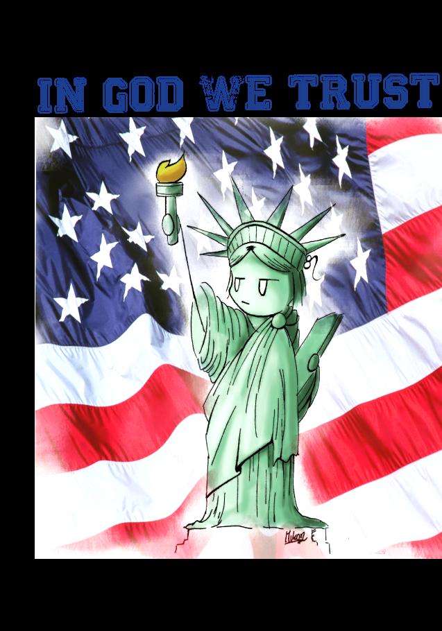 maglietta I love USA!