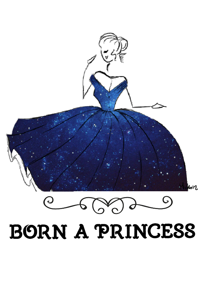 maglietta A Princess...