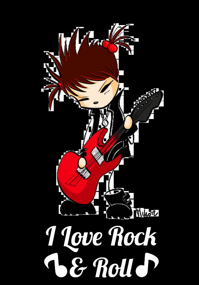 maglietta let's rock