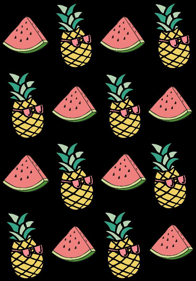 maglietta random fruit