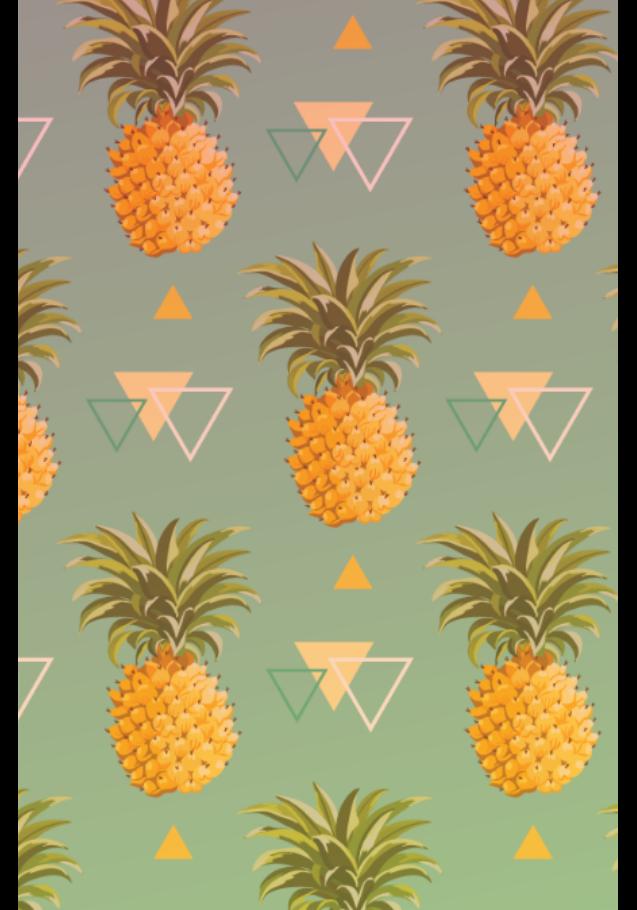 maglietta pineapple cover