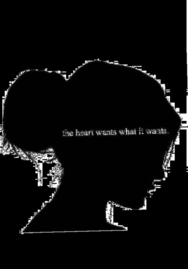 maglietta The heart wants whats it wants