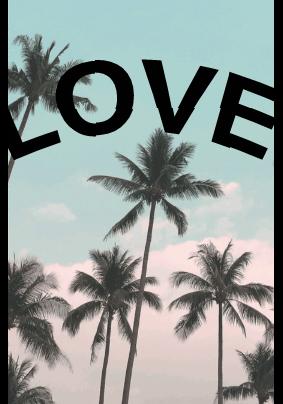 maglietta Estate piena d'amore