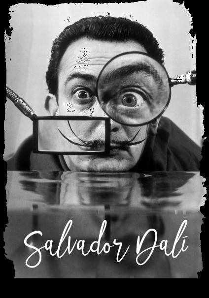 maglietta Salvador Dalí
