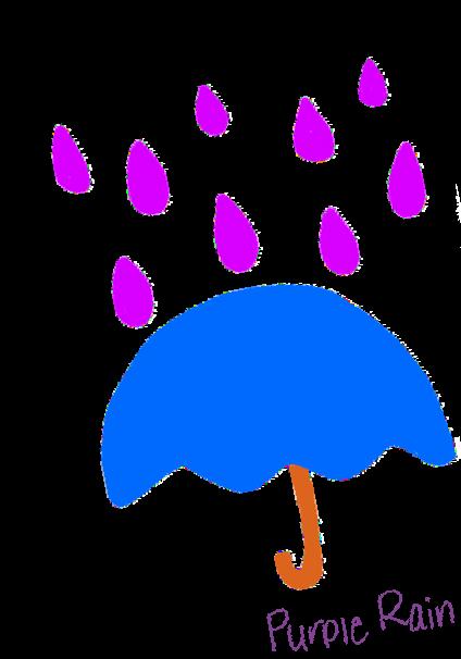 maglietta Purple Rain