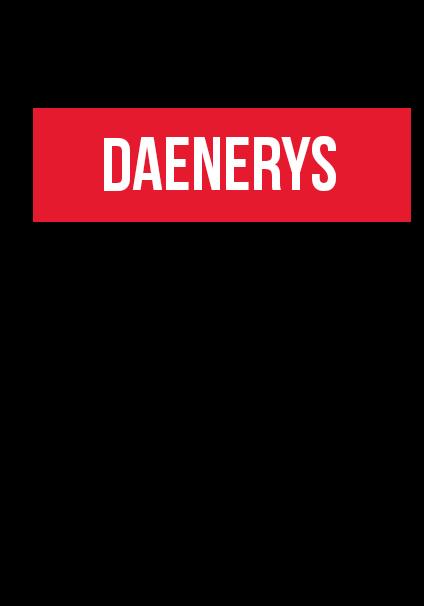 maglietta DAENERYS