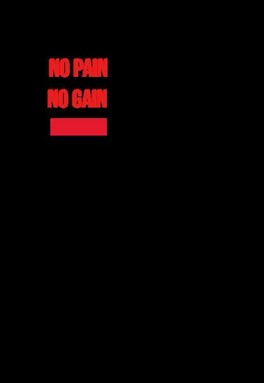 maglietta No Pain No Gain