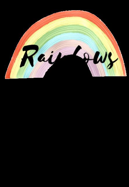 maglietta Rainbows make me happy
