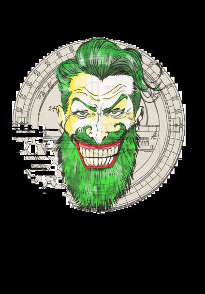 maglietta Hipster Joker