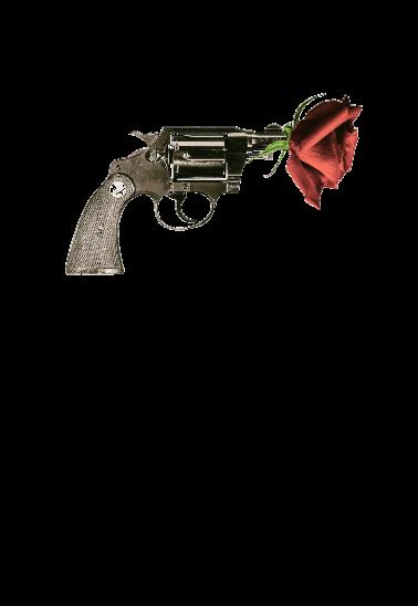 maglietta Pistol Rose